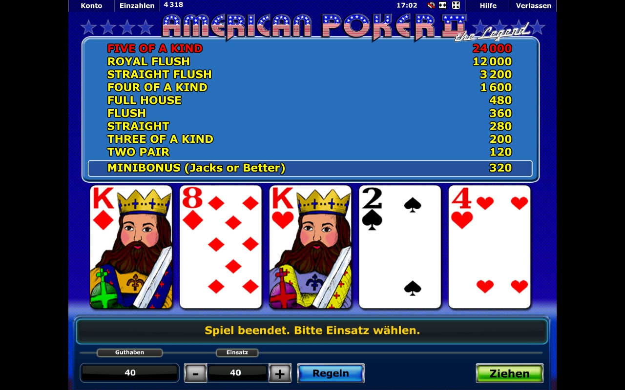 poker american 2 ca la aparate download